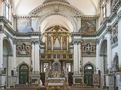 Interior Of Santa Maria Zobenigo