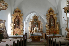Interior Of St Georg Church-Hollerberg, Austria