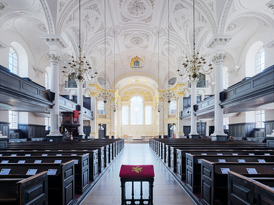 Interior Of St Martin-in-the-Fields