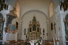 Interior Of Stadtpfarre Jennersdorf
