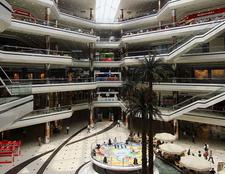 Interior Of The Cevahir Shopping Mall