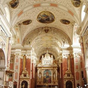 Interior Of The Schottenkirche