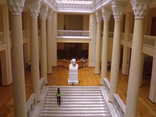 Interior View Of National Library