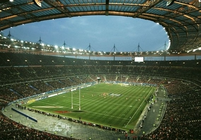 Interior View Of Stade De France