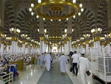 Interior View Of The Mosque