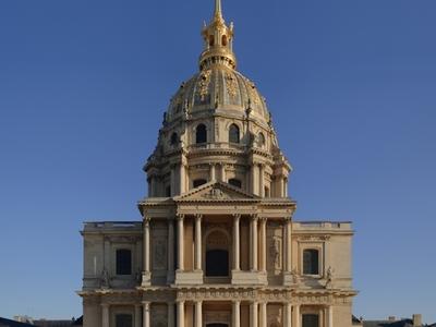 Chapel Of Saint Louis Des Invalides