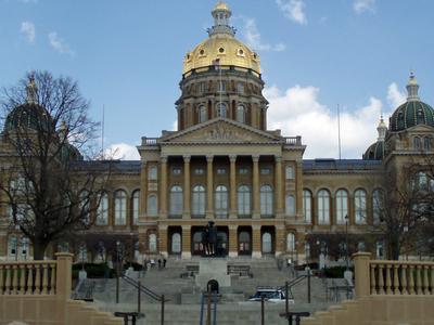 Iowa State Capitol April