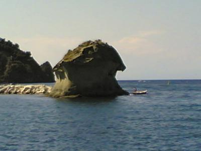 Ischia Mushroom Rock