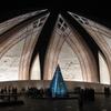 Islamabad     Pakistan  Monument By  Night