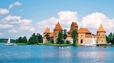 Island Castle Of Trakai