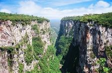 Itaimbezinho Canyon In The National Park