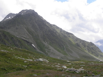 Italian Side Of The Great Saint Bernard Pass