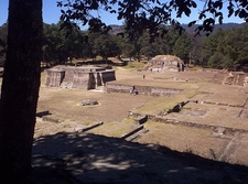 Iximche Overview - Chimaltenango Department - Guatemala
