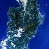 Izu Peninsula Jp Landsat