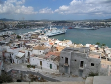 Ibiza Old Town Harbour