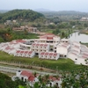 I I T Guwahati Guesthouse As Viewed From Hill Top