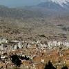 Illimani And La Paz