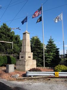 Illinois Indiana State Line Boundary Marker