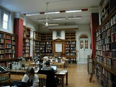British School Athens Library