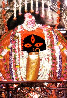 Image Of Goddess Kali At Kalighat