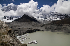 Imja Lake And Glacier