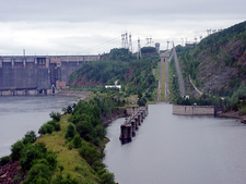 The Dam's Canal Inclined Plane