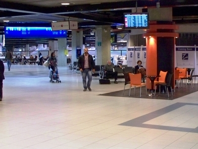 Inside Queen Alia International Airport
