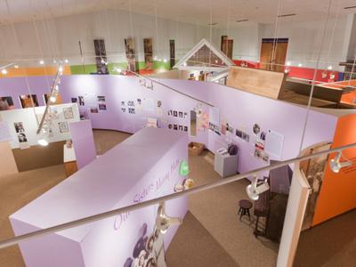 Inside African American Museum Of Iowa