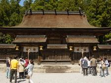 Inside The Kumano Hongu Taisha