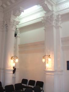 Corinthian Columns In The City Council Salon
