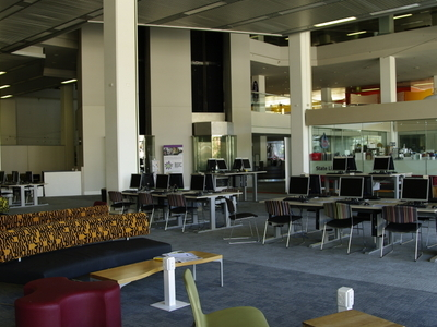 Interior Of  State  Library Of  Western  Australia