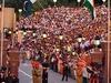 International Border At  Wagah    Evening Flag Lowering Ceremony