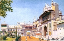 India Bhopal Palace
