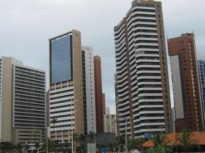 Towers In Praia De Iracema