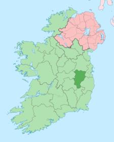 Island Of Ireland Location Map Kildare
