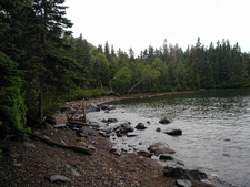 Isle Royale Huginnin Cove Beach