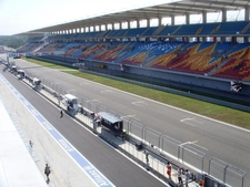 Front Straight And Main Grandstand