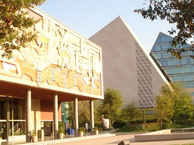 The Rectorate (left) And The CETEC Towers At The Monterrey Campu