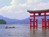 The Torii Of Itsukushima Shrine