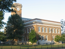 Jackson County Courthouse In Brownstown