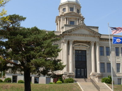 Jackson County Courthouse In Jackson