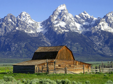Jackson Hole Valley - Grand Teton - Wyoming - USA
