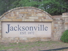 Jacksonville  Welcome Sign