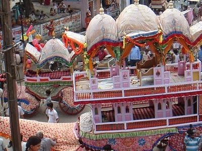 Jagannath Ji Temple Rath - Alwar