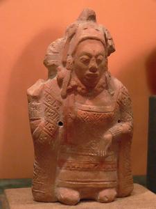 Jaina Island Figurine - Campeche - Mexico
