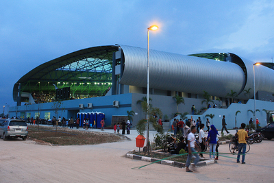 Jakabaring Aquatic Center In Jakabaring Sport City