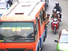 Jalan Sudirman Traffic