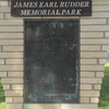 James  Earl  Rudder  Memorial  Plaza