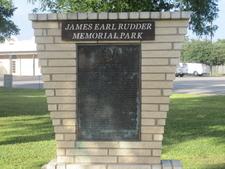 James Earl Rudder Memorial Plaza