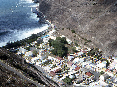 Jamestown - Capital Of Saint Helena